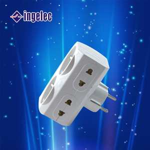 Yiwu No.1 makel adapter with 2 pin lamp socket adapter makel adapter