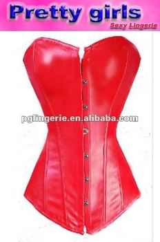 49d730b47f4 Hot Sale Plus Size Leather Corset Lingerie M7081 - Buy Corset ...