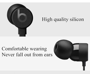 high quality silicone earbuds for Beats X earphone, silicon earhooks ear covers for urBeats 3.0 earphone