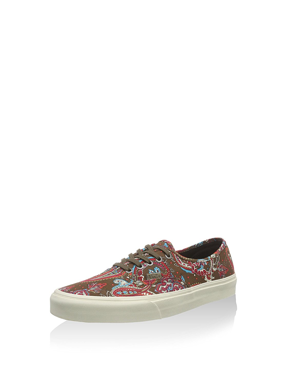 Vans Authentic California Womens 9   Mens 7.5 Paisley Green Olive  Skateboarding Shoes f0b356cf1