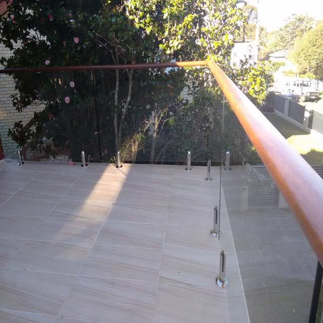 Wooden Banister Handrail Stainless Steel Balustrade Suppliers
