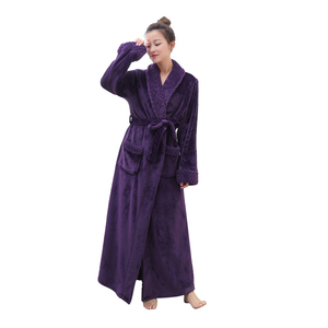 Chinese Factory Bathrobe for Women Dressing Gown Ladies Bathrobes Bath Robe Coral Fleece Wholesale Robes