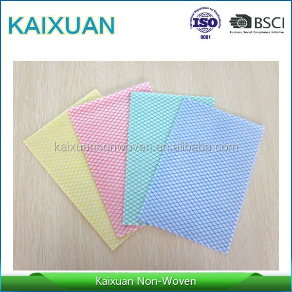 oil absorbing cloth/semi-disposable cleaning cloths