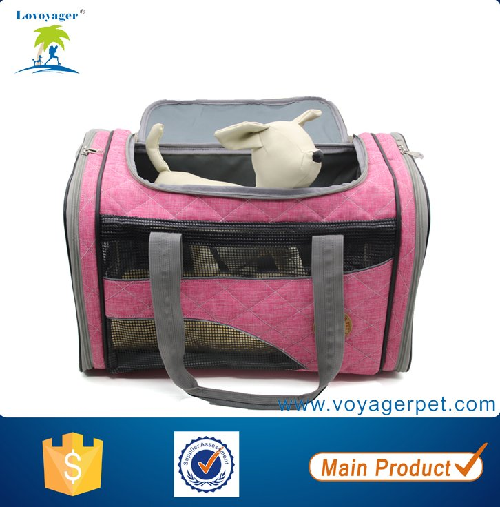 Lovoyager Elegant Pet Carrying Bag Luxury Dog Pet Bag Carrier for Outdoor