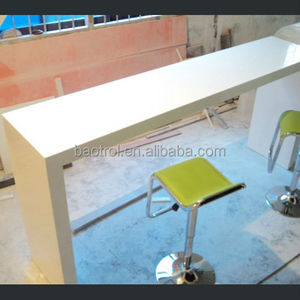 shopping mall relax stand dining desk table