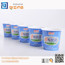 innovative paper plastic cup for yogurt packaging