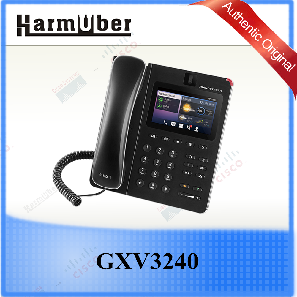 4.3 inch (480x272) Capacitive Touch Screen Video Phone Grandstream GXV3240
