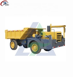 New condition china tipper 4 CBM 4X4 dumpers 8 ton wheel mine site truck dumper