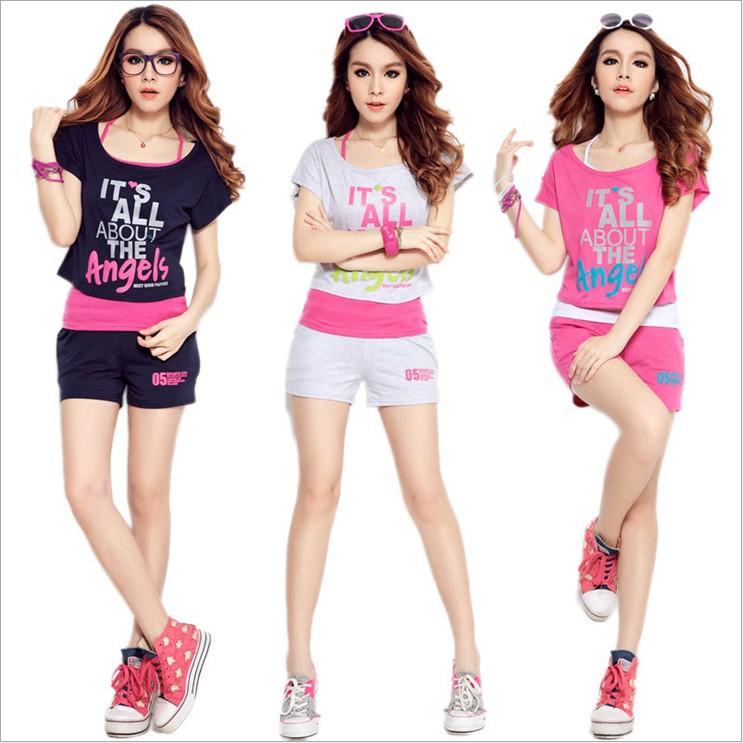 Aliexpress.com   Buy New fashion Summer clothing Female Korean . 33d2dd3c3d4a