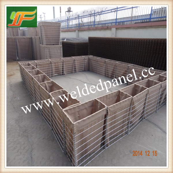 China Factory Supply Galvanized Military Sand Wall Hesco Barrier