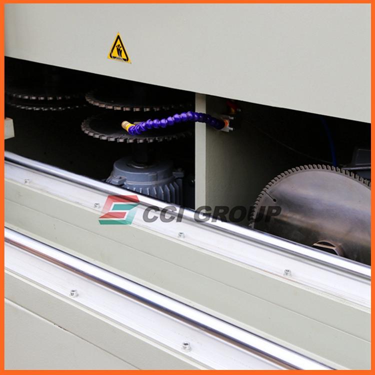 DX05-250D aluminum windows doors frame fabrication assemble assembly machine for aluminum milling