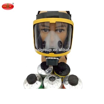 Anti-Toxic Silicone Respirator Full Face Gas Mask Price