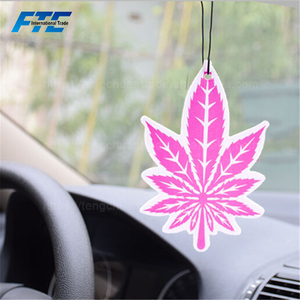 Eco-friendly Customized Paper Hanging Car Air Freshener