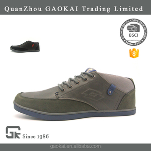 Shoes Stock Casual Shoes For Men with Cow Suede