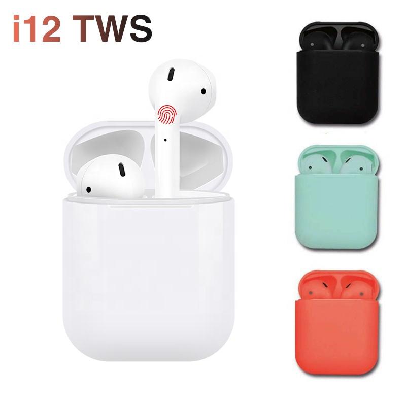 2019 i10 i12 tws i12s i12x i13 tws i14 bt 5.0 bass earbuds headphones Siri hifi wireless headset tws earphone china factory