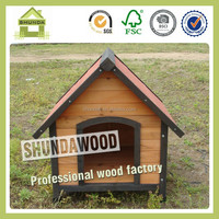 SDD08 professional wooden dog kennel manufacturers