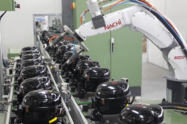 ice maker parts compressor MK-GQR70TZ R134a compressor MBP 455W