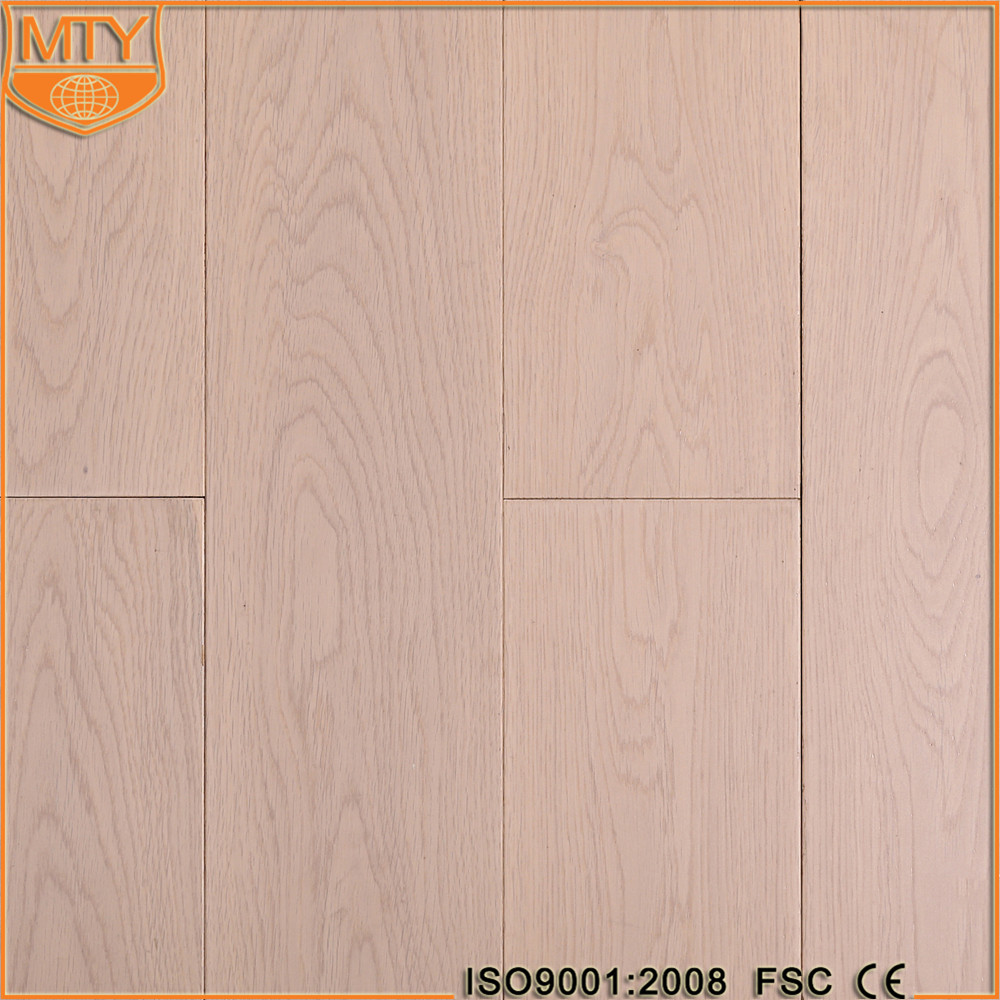 S-4 Hot Sale Good Factory White Washed Oak Wood Floors