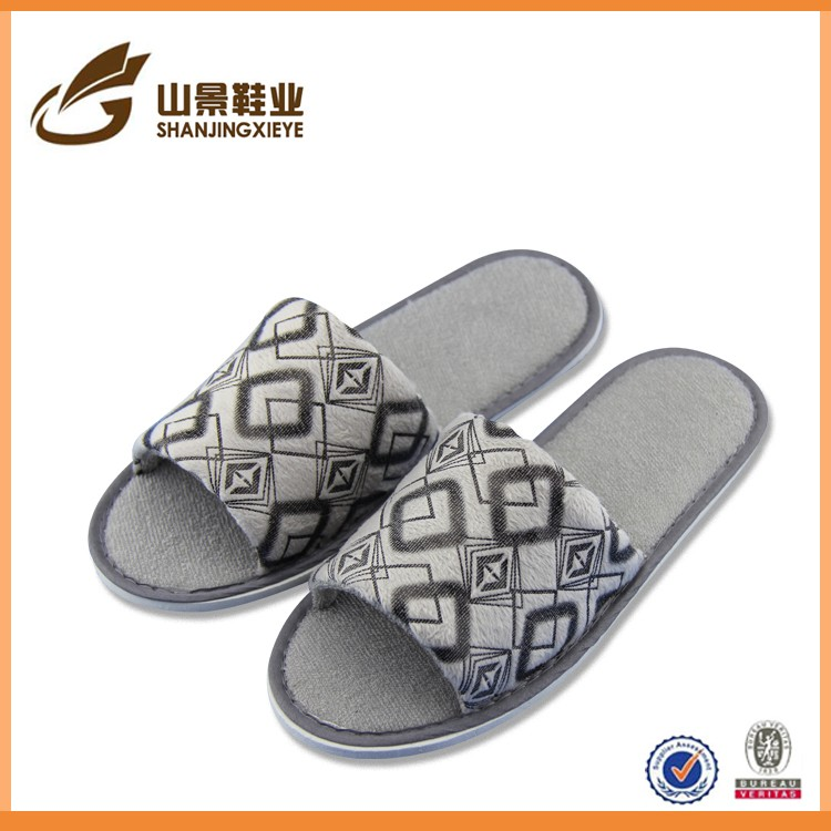embroidery new women personalized fluffy house slippers
