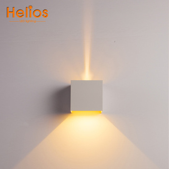 Modern 6w Led Cube Wall Light Home Focus Hotel Room Indoor Decoration Wall Lamp Buy Led Cube Wall Light Indoor Decoration Wall Lamp Hotel Room Wall