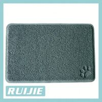 dog pet product accessory paw printing cool pet litter mat