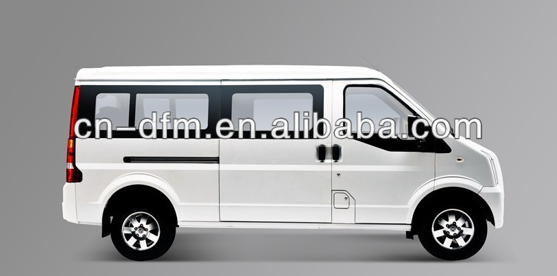 Low oil Consumption Dongfeng 4x2 mini bus well-being C37 LHD/RHD Mini Trucks For Sale