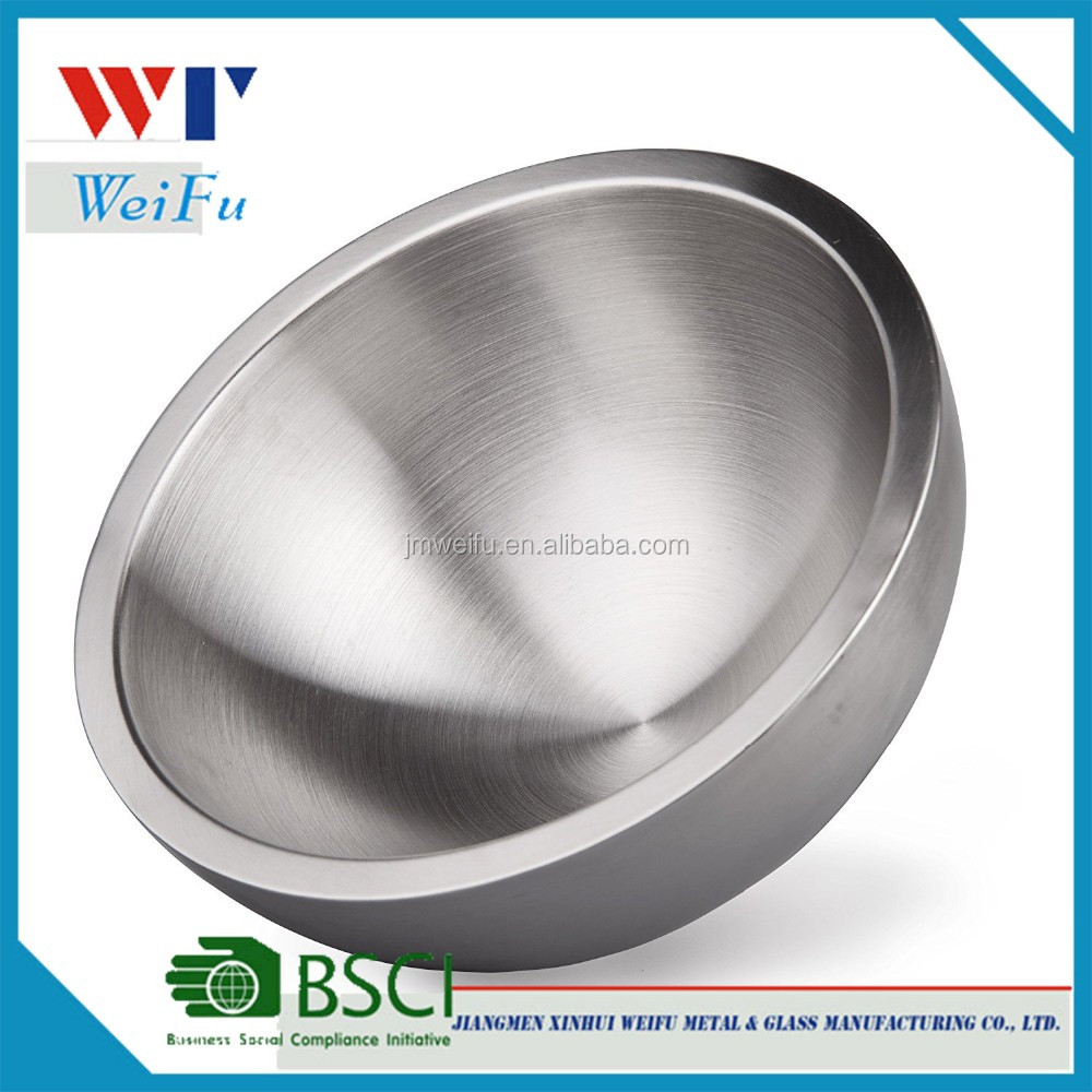 Ultra Heavy Duty 18/10 Stainless Steel Double Wall Serving Bowl Life-long Use