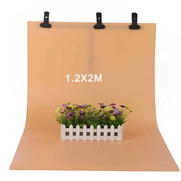 120*200cm Yellow PVC Backdrop Anti-wrinkle for Photo Studio Photography Equipment