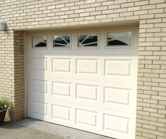 Low Price 16x8 5 Panel Garage Door Windows That Open