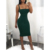Wholesale Fashion Bodycon Tight Women Sexy Green Dress
