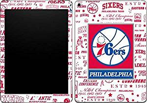 NBA Philadelphia 76ers iPad Air 2 Skin - Philadelphia 76ers Historic Blast Vinyl Decal Skin For Your iPad Air 2