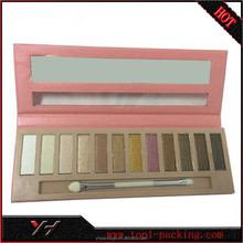 High quality custom makeup empty eyeshadow palettes wholesale