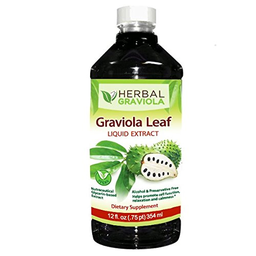 Graviola Soursop Leaf Extract Liquid - 12oz