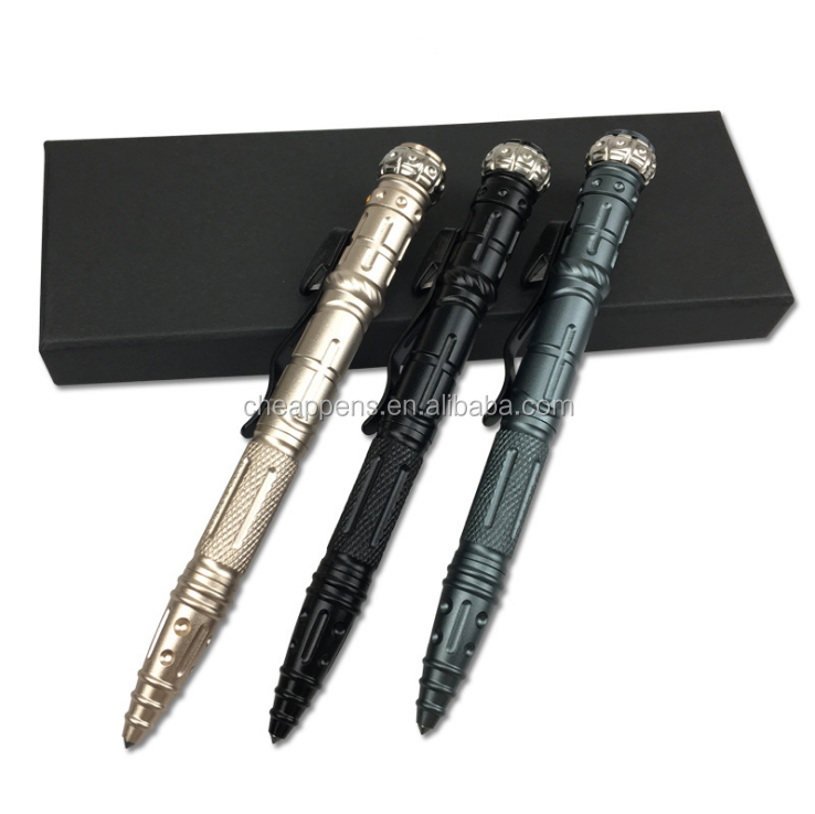 Multifunctional Stainless Steel Defense Pen Broken Window Tactical Pen for Women Gift