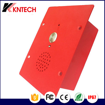 IP audio intercom door phone industrial telephone for airport or apartment KNZD-11