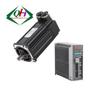 220V 400W 750W 1KW 80 series 3-phase 3000rpm totally enclosed AC servo motor for CNC machine parts