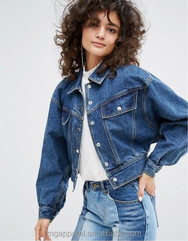 Wholesale Latest Design Jean Jacket Ladies High Quality Coat For