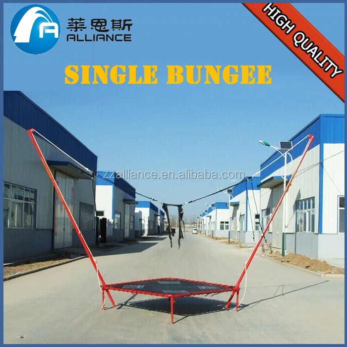 2017 bungee jumping kids little equipment mini bungee trampoline