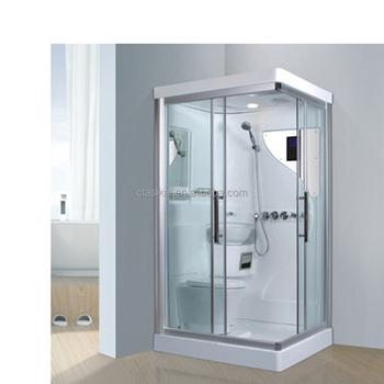 Salle De Bain De Style Americain Standard Avec Toilettes Et Lavabo