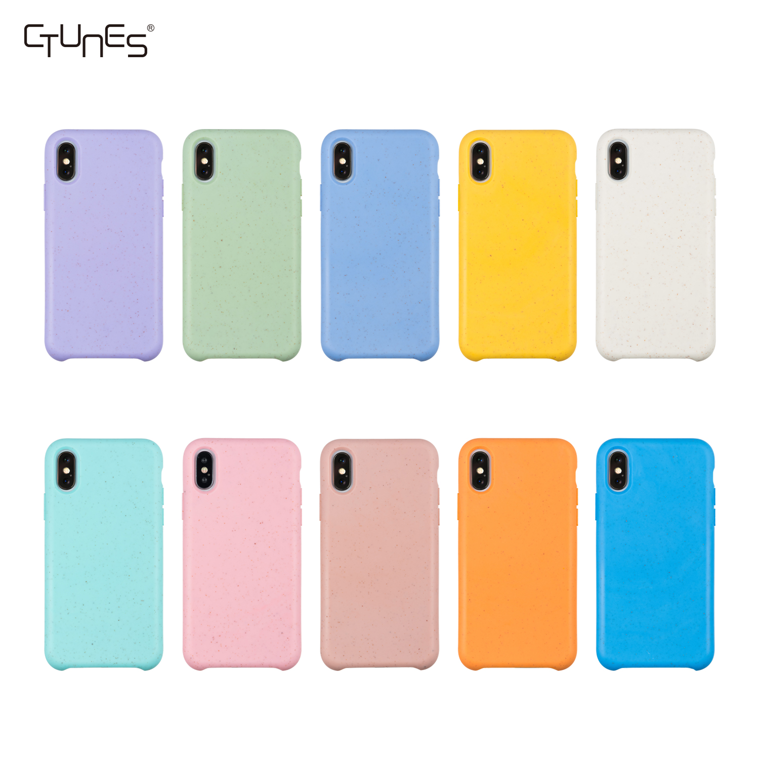 Best Selling Biodegradable Eco Friendly Platycodon Soft Phone Case For iPhone X XS XR XS Max