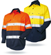 Factory directly customizable Industrial working safety Reflective work jackets