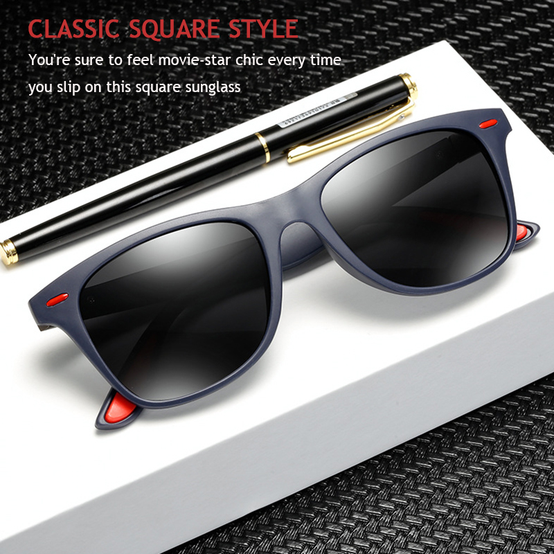 Fuqian custom square aviator sunglasses mens factory for running-3