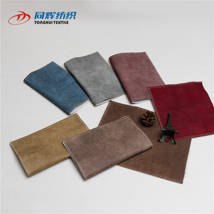 New Products 100% Polyester Cheap Car Seat Faux Leather Fabric