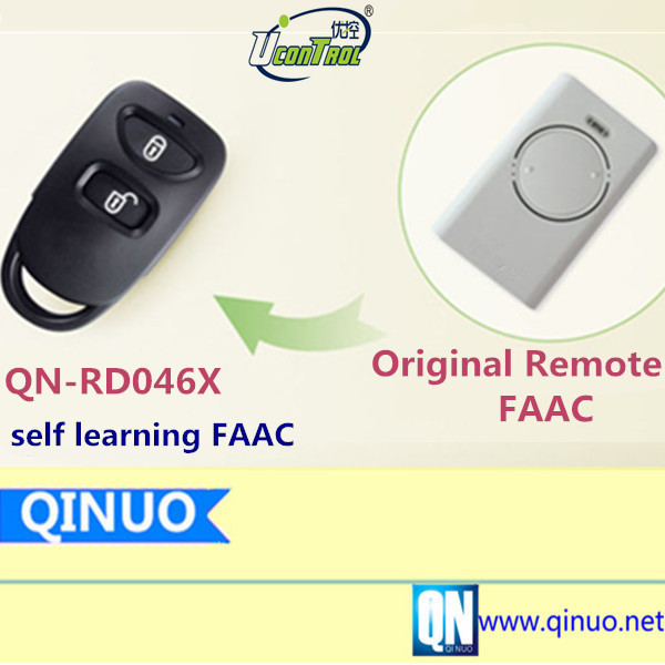 Remote Control Duplicator QN-RD046X Self Learning FAAC Face to Face Rolling Code 868.3Mhz