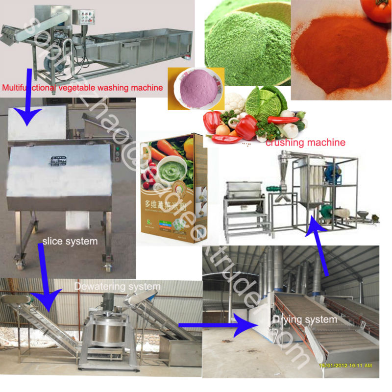 vegetables and fruits powder making machine
