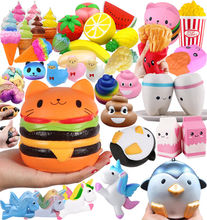 Squishies Jumbo Profumato Charms Kawaii <span class=keywords><strong>Squishy</strong></span> Spremere Lento Aumento Sollievo Giocattolo Divertente