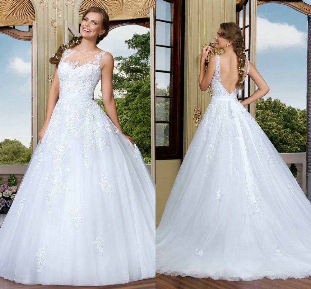Organza Wedding Gowns: Vestidos De Novia Glamorous Ball Gown Wedding Dresses
