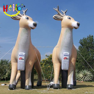 customized inflatable deer inflatable moose inflatable elk for christmas decoration
