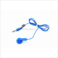 Walkie single side cheap earphone disposable headphone price at stock