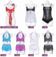 Hot sale charming design pluse size nude teddy sexy lingerie for fat women
